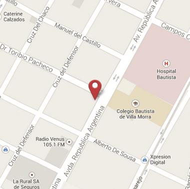 Avenida Rca. Argentina y Pacheco
